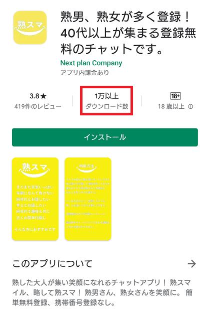 熟スマは登場間もない出会い系アプリですが既に1万人います。これは名前を変えただけのアプリだからです。